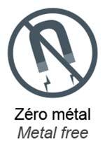 Pictogramme zéro métal