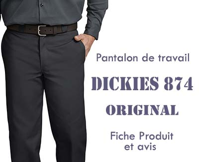 Pantalon dickies 874 original Titre