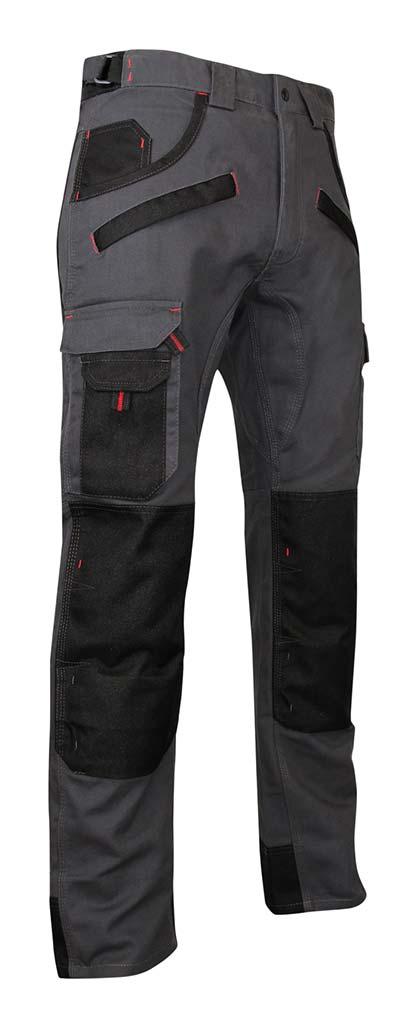 Pantalon de travail homme LMA 1261 Argile bicolore
