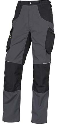 Pantalon mach 5 noir/gris