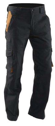 Pantalon de travail en toile canvas LMA 1247 Nacelle Noir -