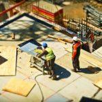 Chantier de construction BTP
