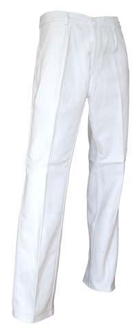 Pantalon peintre blanc pas cher LMA Pinceau