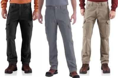 Pantalon de travail cargo Carhartt B342 [Fiche produit et Avis]